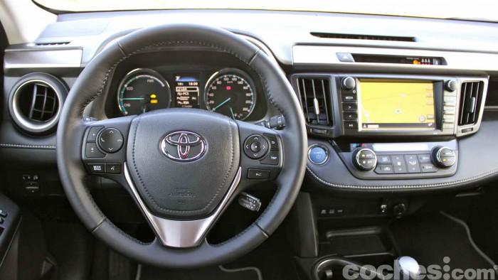 Toyota RAV4 Hybrid 2016 prueba 54