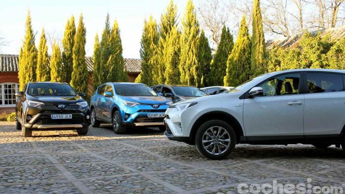 Toyota RAV4 Hybrid 2016 prueba 86