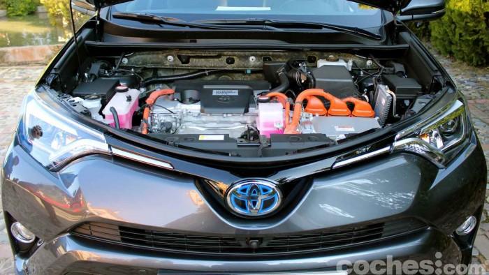 Toyota RAV4 Hybrid 2016 prueba 87