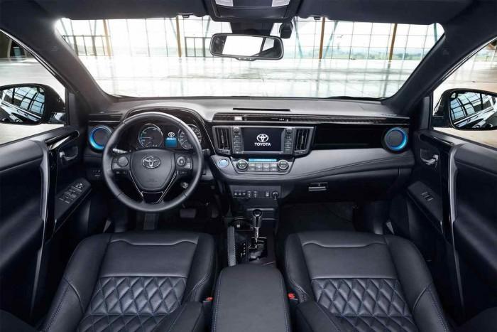 Toyota RAV4 Hybrid Sapphire 2016 interior 00