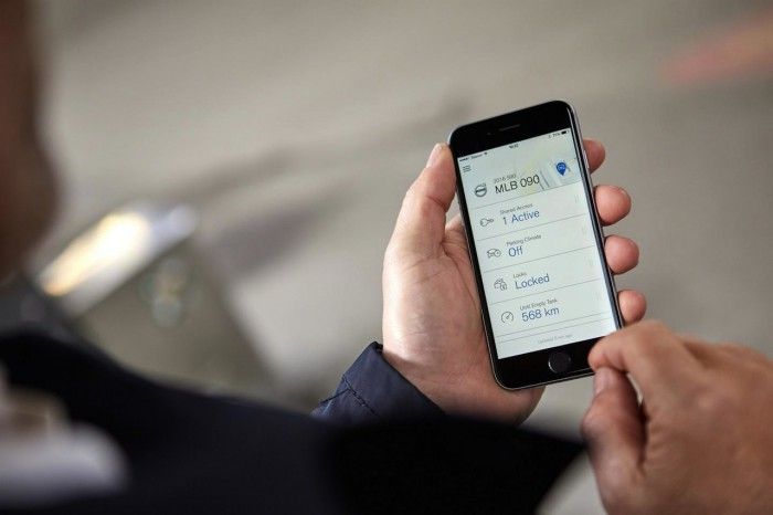 Volvo llave digital movil 2