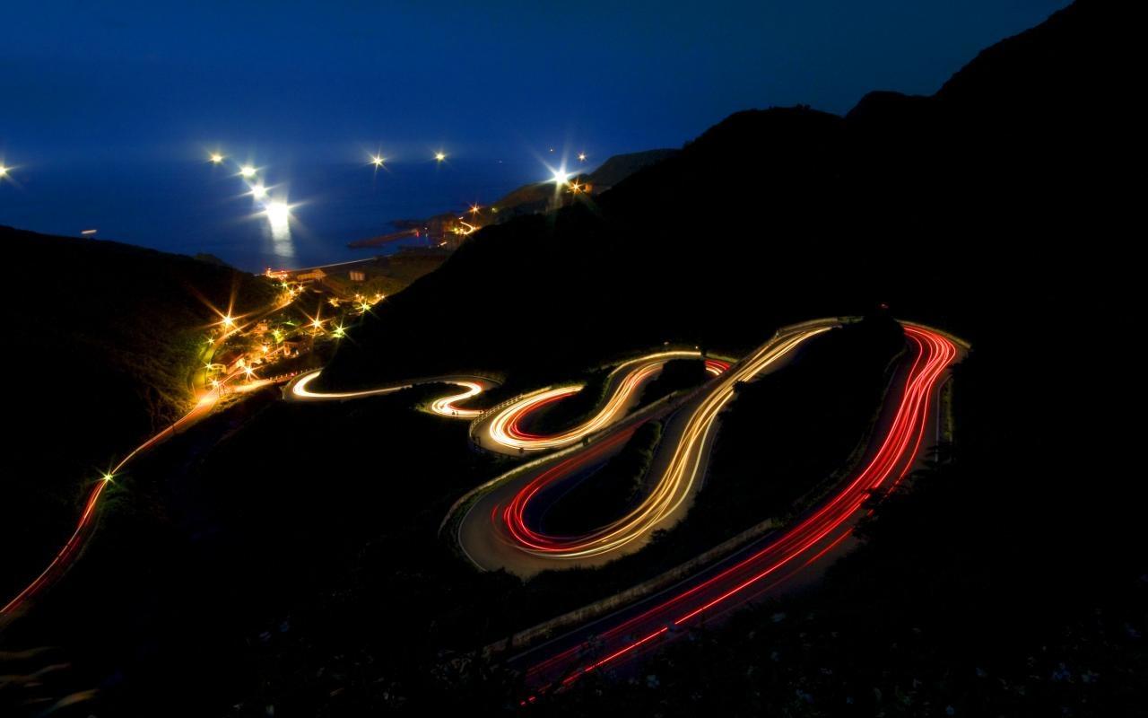 carretera noche