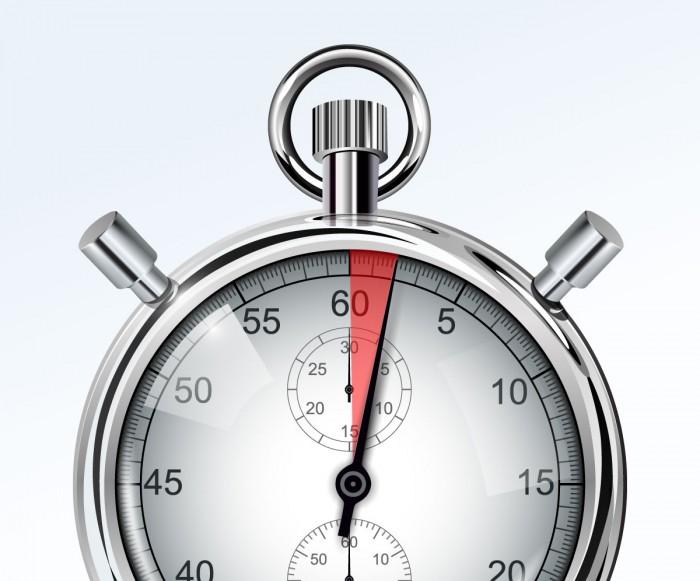 distracciones reloj dos segundos
