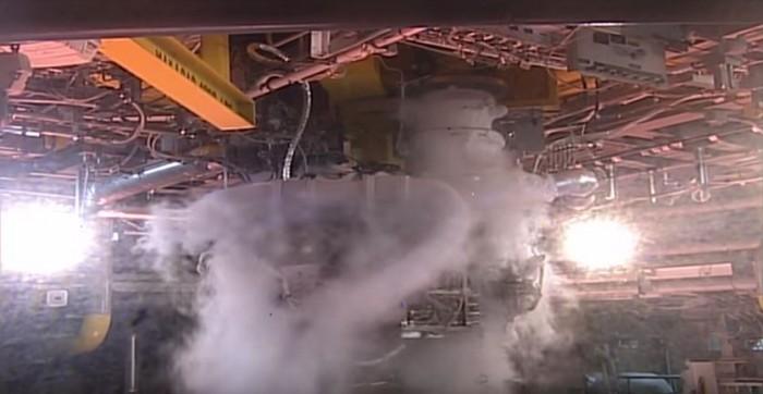 motor RS-25 2059 del cohete de la Nasa con destino Marte 02