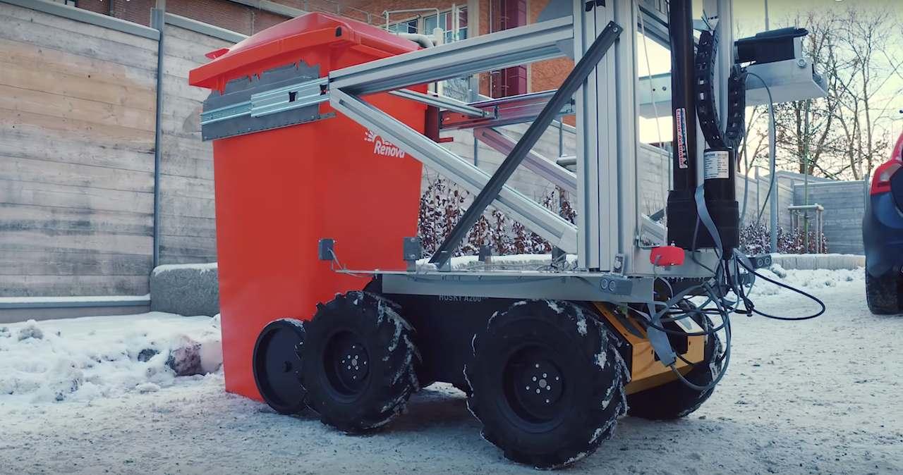 proyecto ROAR robots autonomos basura