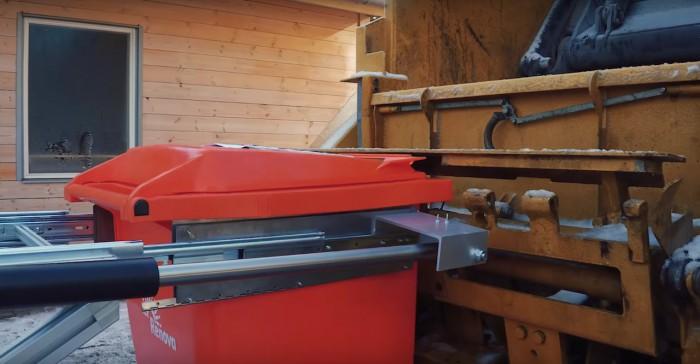 proyecto ROAR robots camion basura