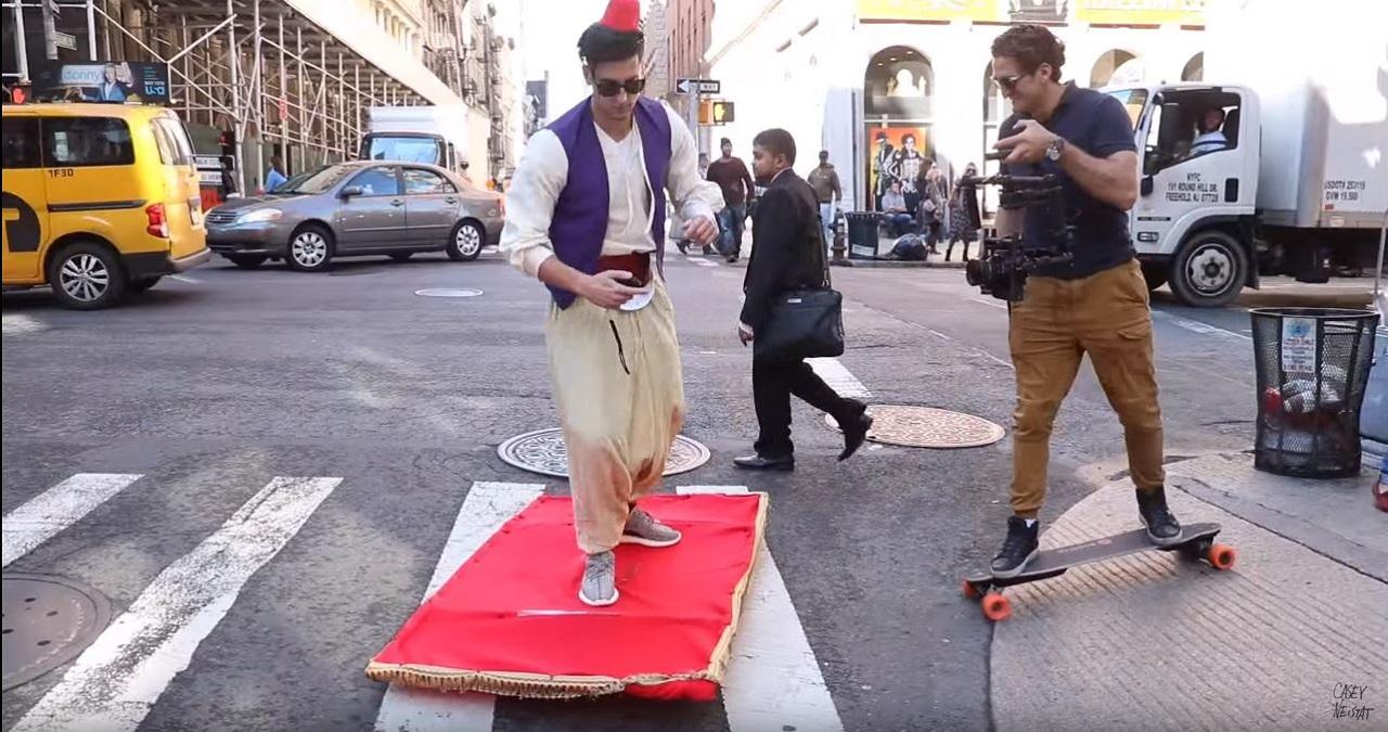 Aladin  alfombra
