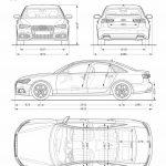 Audi A6 2016 dimensiones