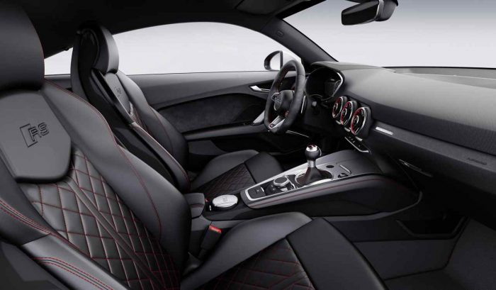 Audi TT RS Coupé 2016 interior