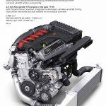 2.5 litre five cylinder TFSI engine