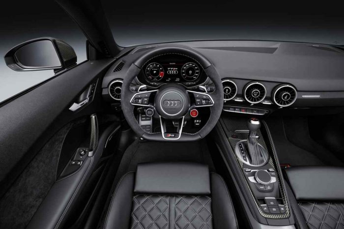 Audi TT RS Roadster 2016 Cockpit