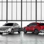 Borgward BX6 TS y BX5 Concepts 2016