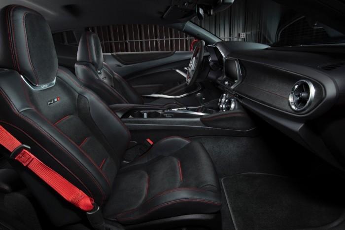 Chevrolet Camaro ZL1 2017 interior 01