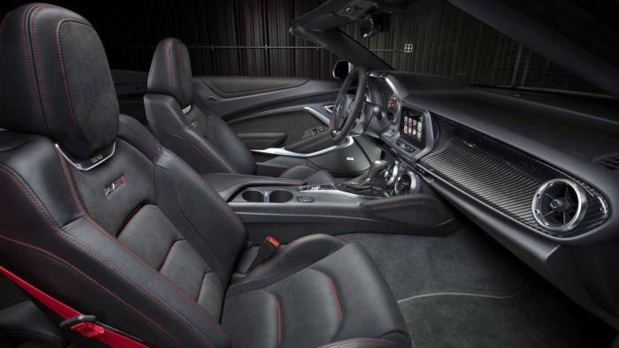 Chevrolet Camaro ZL1 Convertible 2017 interior 01