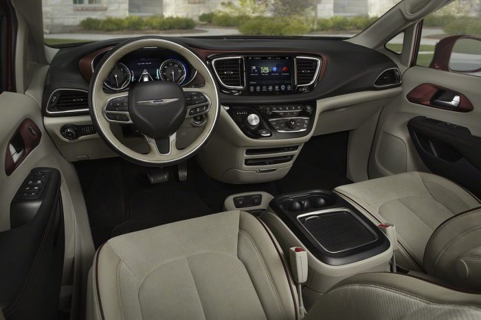 Chrysler Pacifica USA 2017 interior