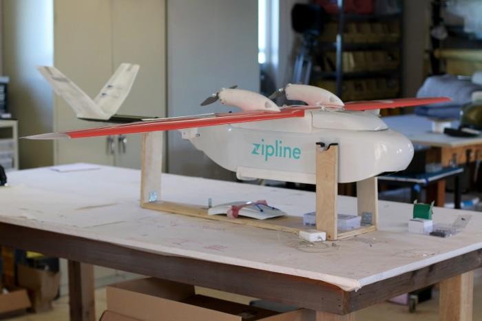 Dron Zipline prototipo