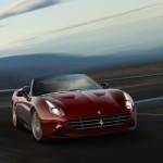 Ferrari en la carretera