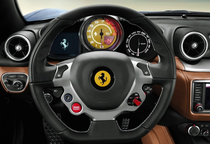 Ferrari California T HS 2016 interior