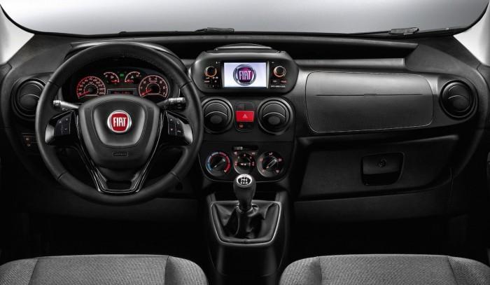 Fiat Fiorino 2016 interior