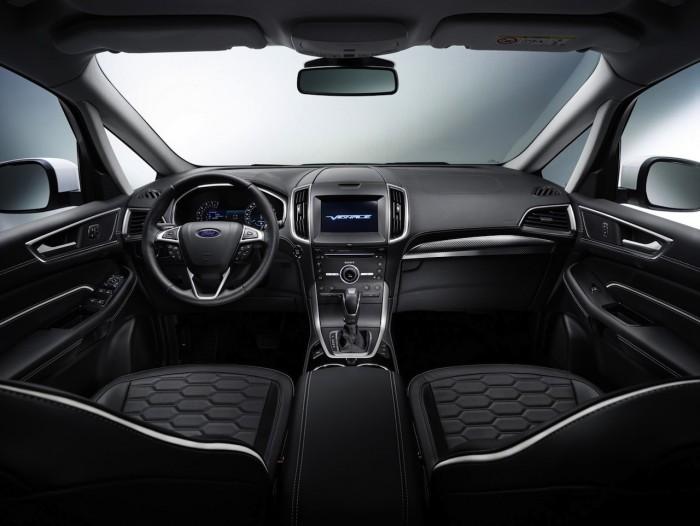 Ford S-MAX Vignale 2016 interior 01