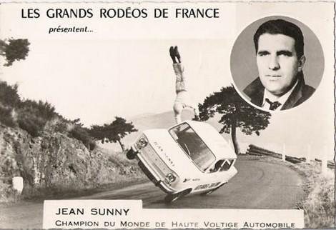 Jean Sunny, primer europeo en conducir un coche sobre dos ruedas 03 (470×322)