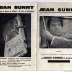 Jean Sunny, primer europeo en conducir un coche sobre dos ruedas