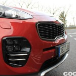Kia Sportage 2.0 DRDi GT Line 4x4 2016 prueba exterior 3