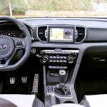 Kia Sportage 2.0 DRDi GT Line 4x4 2016 prueba interior 2