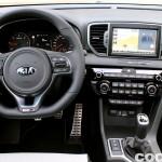 Kia Sportage 2.0 DRDi GT Line 4x4 2016 prueba interior 3