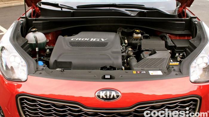Kia Sportage 2.0 DRDi GT Line 4x4 2016 prueba motor 3