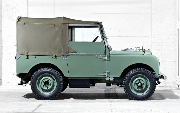 Land Rover Series I estudio 02