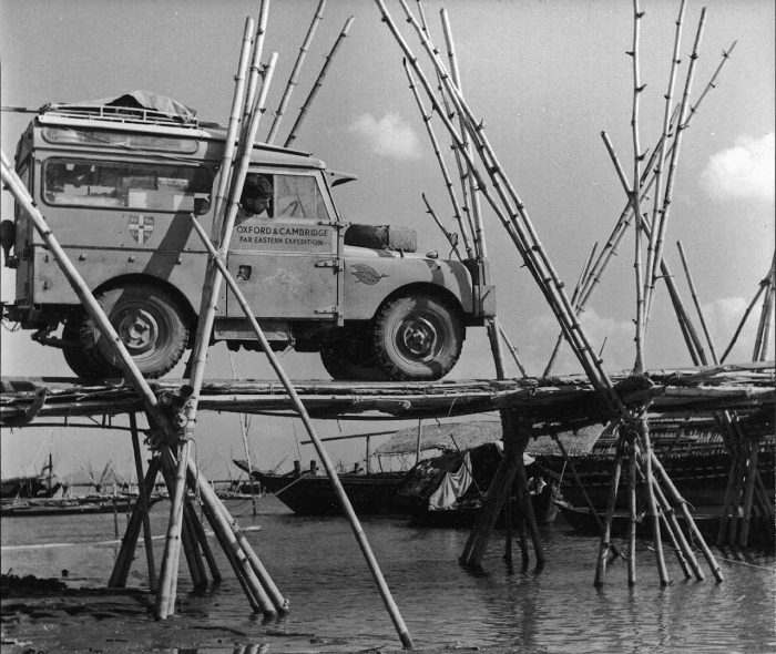 Land Rover Series Oxford Expedition 1955