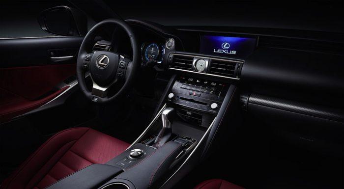 Lexus IS 2017 interior 03