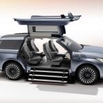 Lincoln Navigator Concept gullwing doors