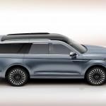 Lincoln Navigator Concept side profile studio