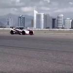 Nissan GT-R guinness record en derrape 08