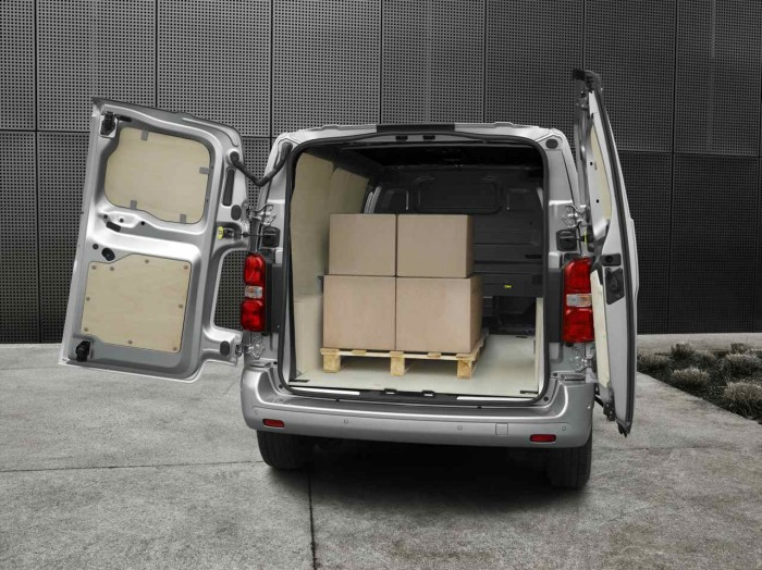 Peugeot Expert 2016 espacio carga 1