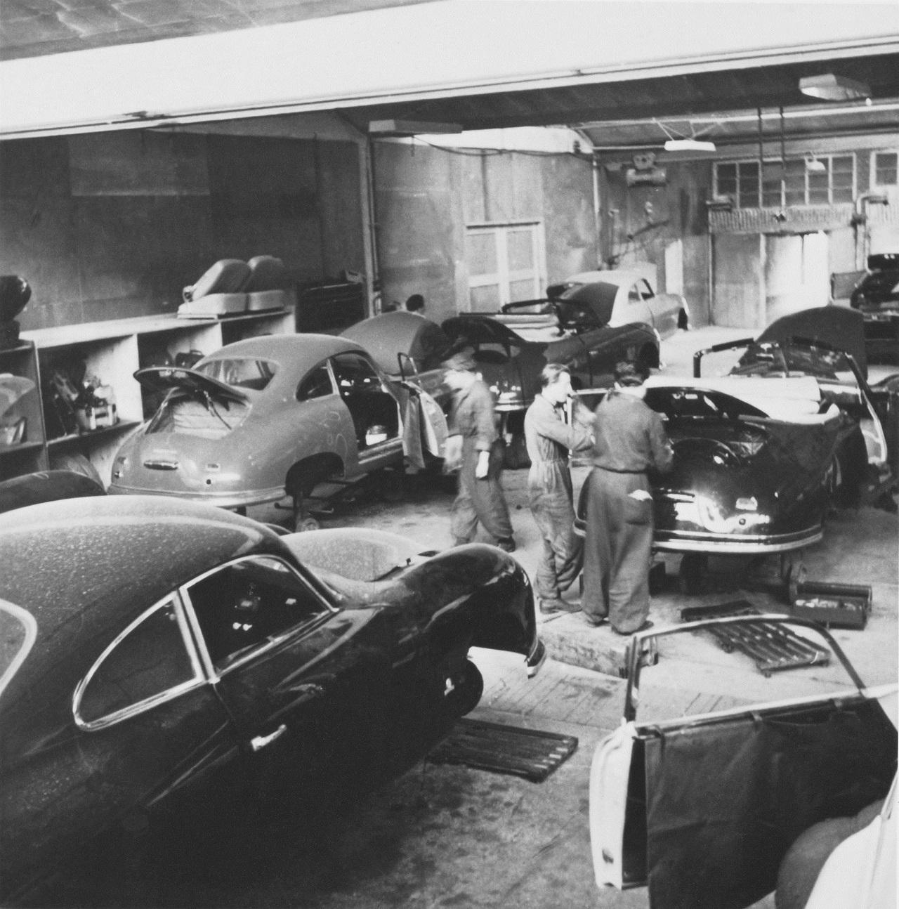 Porsche  356  fabrica