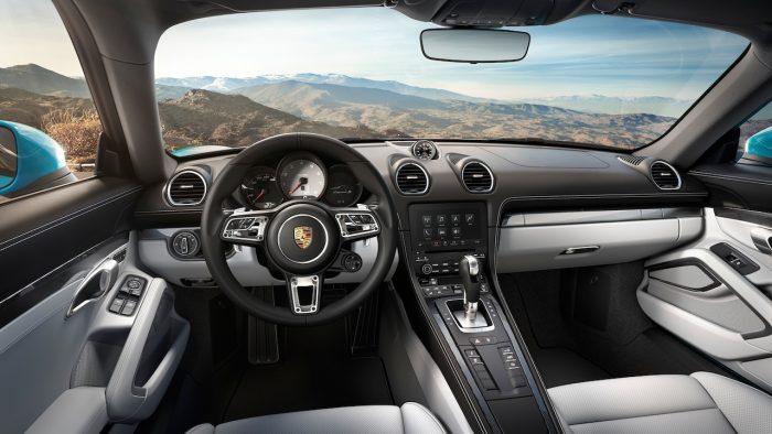 Porsche 718 Cayman S 2016 interior