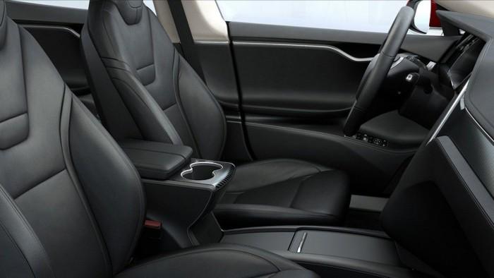 Tesla Model S 2017 USA interior 02