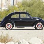 Volkswagen Beetle Oval Window 1954 Green Day 01