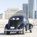 Volkswagen Beetle Oval Window 1954 Green Day 03