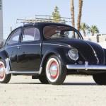 Volkswagen Beetle Oval Window 1954 Green Day 05