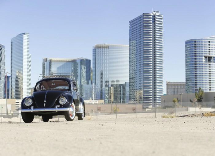 Volkswagen Beetle Oval Window 1954 Green Day 06