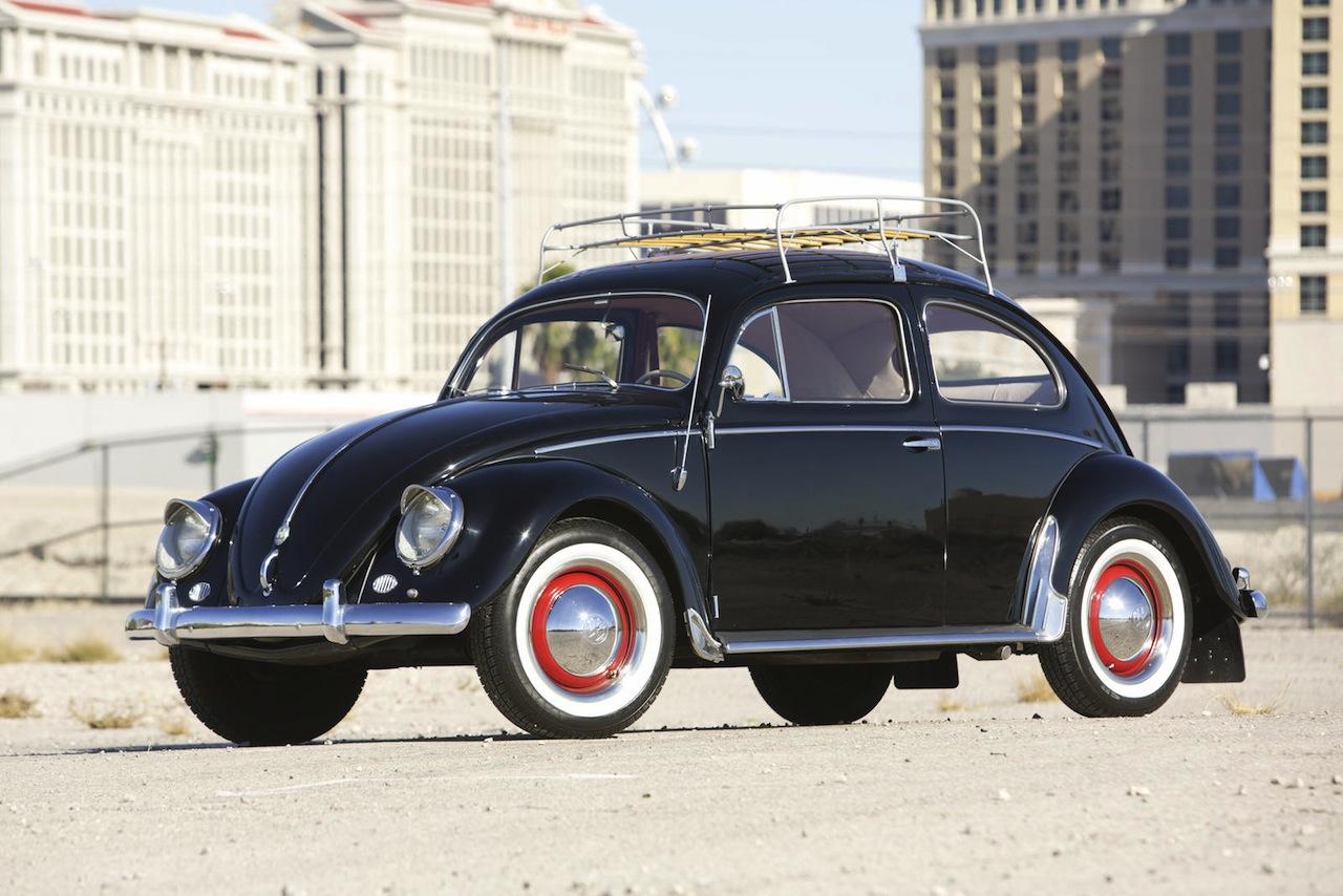 Volkswagen Beetle Oval Window 1954 Green Day 07