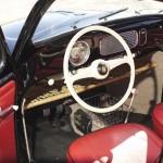 Volkswagen Beetle Oval Window 1954 Green Day interior 01
