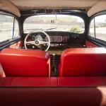 Volkswagen Beetle Oval Window 1954 Green Day interior 03