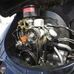Volkswagen Beetle Oval Window 1954 Green Day motor
