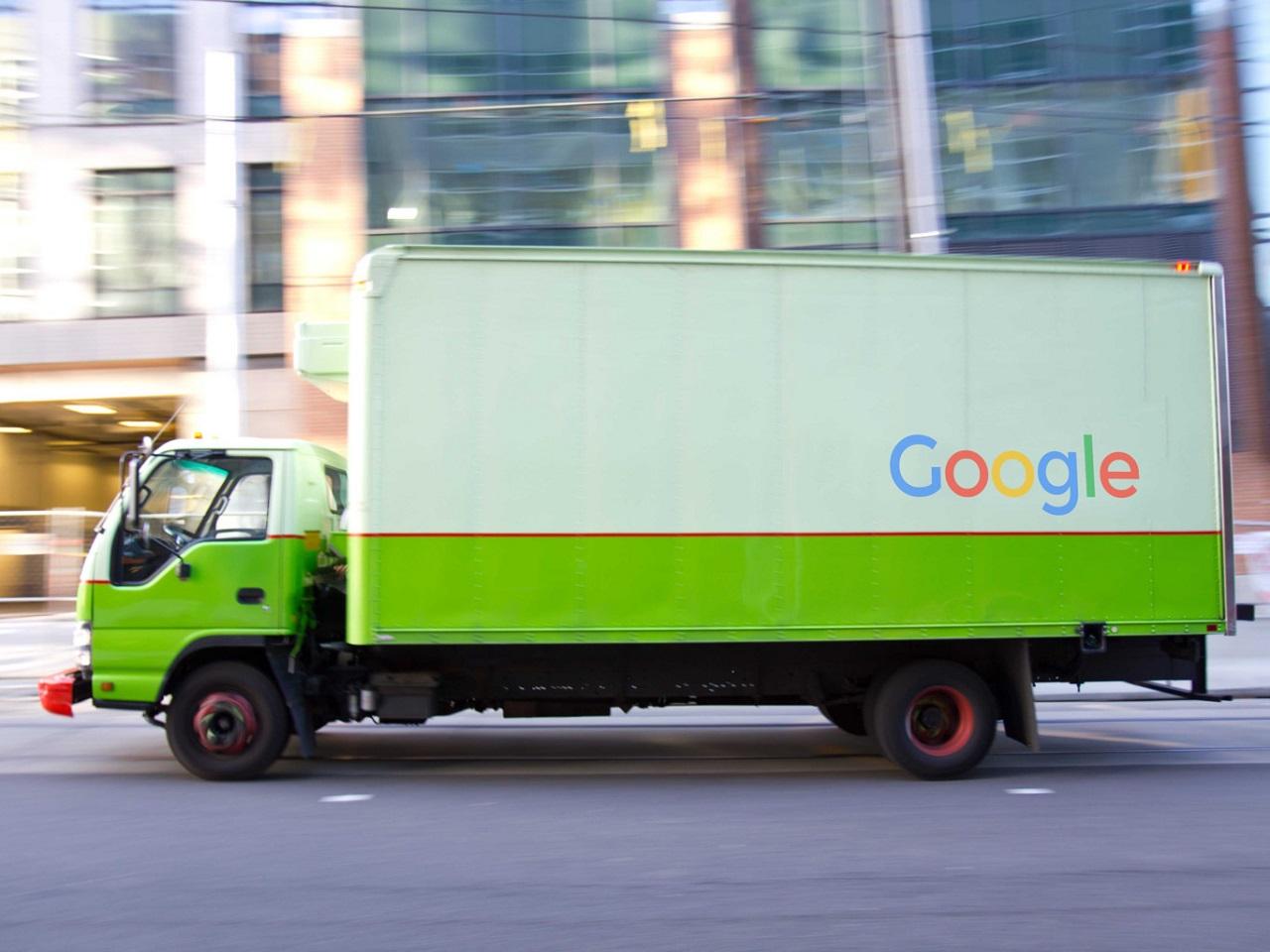 camión google autónomo