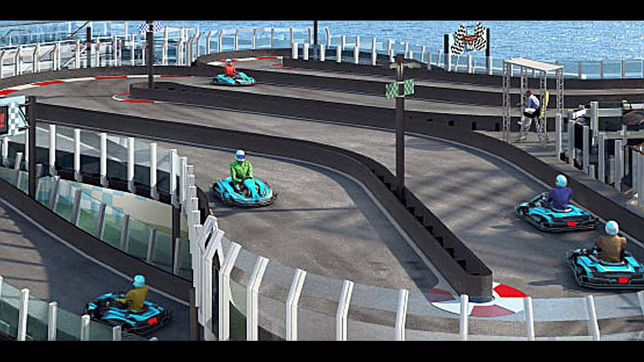 circuito de karts crucero